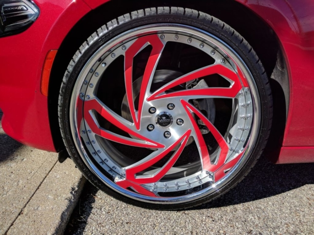 accent color wrap, rims color wrap, rims wrap, accent red wrap