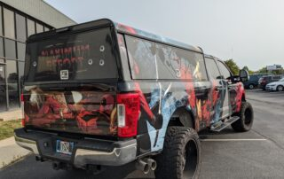 Deadpool rear corner