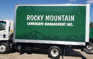 Rocky Mountain Box Truck Wrap