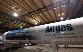 Airgas Tanker