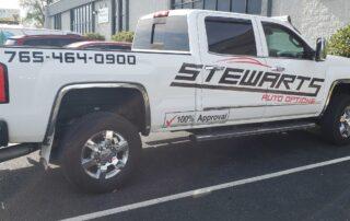 Stewarts Truck Decals