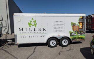 Miller Lawn Trailer