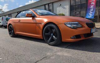 Satin Orange BMW