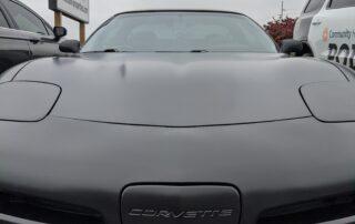 Corvette Satin Black