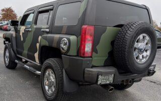 Camo SUV Wrap