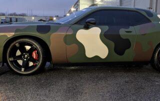 Camo Car Wrap