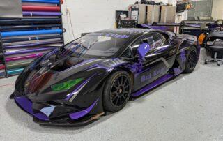 Custom Lamborghini Wrap